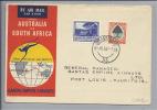 AFRIKA Südafrika 1952-09-06 Erstflug Johannesburg-Mauritius-Cocos-Perth-Syone - Afrique Du Sud (1961-...)