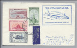OZEANIEN Neuseeland 1951-06-26 Erstflug Christchurch-Melbourne - Nouvelle-Zélande