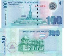 NICARAGUA -100 CORDOBAS 2007 (2009)xf - P New - Nicaragua
