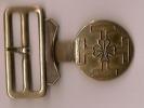 Boucle de ceinturon de Scout/ Ecusson scout/ vers 1930                       D46