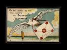 22 - LAMBALLE - Ce Bel Oiseau De Mer Vous Apporte Un Souvenir De Lamballe - Carte Dépliant - Lamballe