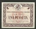 ANDORRA- VAL PER  UNA PESETA  19 DICIEMBRE 1936 - EN PERFECTO ESTADO PLANCHA. - Andorra