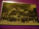 65 - LOURDES - LES PISCINES - 18 - CALECHES - CPA ECRITE - Lourdes