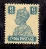 1941 BRITISH INDIA 6ANNA KGV1 MINT NEVER HINGED STAMP UMM. - India