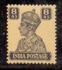 1941 BRITISH INDIA 8ANNA KGV1 MINT NEVER HINGED STAMP UMM. - India