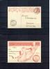 Schweiz / Switzerland 1909 Ganzsache P68 Echt Gelaufen Ersttag 4.10.1909 - Interi Postali
