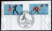 A06-02-03) Berlin - Michel 698 / 699 Auf Papier - OO Gestempelt - Sporthilfe 83 - [5] Berlijn