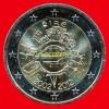 """2 Euros """"10 Ans Euro FIDUCIAIRE"""" Commémorative IRLANDE 2012, En UNC Neuves Sous Sachet - Irland"""