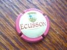 Capsule Caps Mousseux Cidre Ecusson 1/4 Quart Rouge Creme - Autres