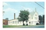 Cp, Etats-Unis, Martin, First Baptist Church, Voyagée 1969 - Etats-Unis