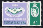 Tristan Da Cunha MNH Scott #88 6p International Co-operation Year - Tristan Da Cunha