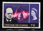 Tristan Da Cunha Used Scott #92 1sh6p Sir Winston Churchill - Tristan Da Cunha