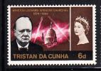 Tristan Da Cunha MNH Scott #91 6p Sir Winston Churchill - Tristan Da Cunha