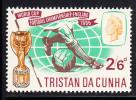 Tristan Da Cunha MNH Scott #94 2sh6p World Cup Soccer - Tristan Da Cunha