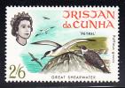Tristan Da Cunha MNH Scott #119 Birds: 2sh6p Great Shearwater - Tristan Da Cunha