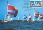 D06887 CARTE MAXIMUM CARD 1982 GERMANY - SAILING - CP ORIGINAL - Sailing