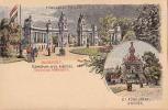 AK UNGARN HUNGARY BUDAPEST EXPOSITION MILLENAIRE  LITHO KARTE OLD POSTCARD VOR 1904 - Ungarn