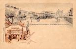 AK UNGARN HUNGARY BUDAPEST AKADEMIA   LITHO KARTE OLD POSTCARD VOR 1904 - Ungarn