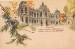 "AK UNGARN HUNGARY BUDAPEST EXPOSITION "" RENEISANCE""   LITHO KARTE OLD POSTCARD VOR 1904 - Ungarn"