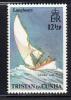 Tristan Da Cunha MNH Scott #177 12 1/2p Longboat Under Sail - Longboats - Tristan Da Cunha