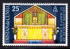 Tristan Da Cunha MNH Scott #180 25p Altar, St. Mary's Church - 50th Anniversary Of Church - Tristan Da Cunha