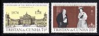 Tristan Da Cunha MNH Scott #196-#197 Sir Winston Churchill - Tristan Da Cunha