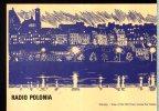 Sw Reception Qsl Radio Polonia Freq.1503 9525 Kc/s Warsaw Viev Of The Old Town Across The Vistula - Radio
