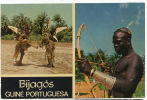 Bijagos Guiné Portuguesa  156 Caçador Felupe Deux Peixe  Bissau  Tir A L' Arc  Homme Nu - Guinea-Bissau