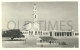 PORTUGAL - FATIMA - SANTUARIO EM CONSTRUÇÃO - 1950 REAL PHOTO PC - Santarem