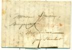 Belgique - Préphiletélie De Verviers Vers Stavelot Du 25/08/1838, Griffe Après Le Départ Type 12, See Scan - 1830-1849 (Belgique Indépendante)