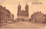 Merville 5: Eglise Et Avenue Pétain 1932 - Merville