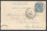 Cachet Ambulant De St Germain Des Fossés à Langeac Du 8 Septembre 99 - Ganzsachen