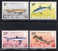 Tristan Da Cunha MNH Scott #302-#305 Sharks - Tristan Da Cunha