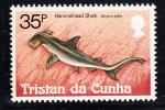 Tristan Da Cunha MNH Scott #305 35p Hammerhead - Sharks - Tristan Da Cunha