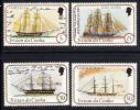 Tristan Da Cunha MNH Scott #306-#309 Ships - Tristan Da Cunha