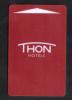 BELGIUM - HOTEL KEY CARD   (  THON HOTEL  ) BRUSSLS - Hotel Keycards