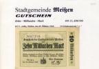 """Städte Großgeldscheine - Banknoten Während Der Inflationszeit V. 1923 Meißen 10 Milliarden Mark -  """"GUTSCHEIN"""" (0209) - [ 3] 1918-1933 : Weimar Republic"""