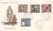 Lettre FDC SAARLAND 1957/799 - Briefe U. Dokumente