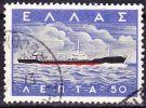 GREECE 1958 Greek Merchant Marine 0.50 Dr.  Vl. 740 - Griekenland