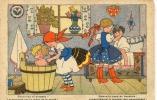 """Ancienne Cp """" Croix Rouge De Belgique, Savonnez Et Brossez ... """"  Cp Non Voyagée - Fancy Cards"""