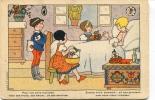 """Ancienne Cp """" Croix Rouge De Belgique, Pour Nos Amis Malades, ... """"  Cp Non Voyagée - Fancy Cards"""