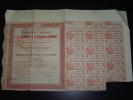 Obligation De 500 Francs 6% Au Porteur ,Etablissements Industriels E.-C.Grammont 1919 - Azioni & Titoli