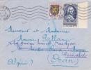 7156# Y&T N° 940 ARGENSON / LETTRE Obl PARIS 1953 Pour ORAN ALGERIE Puis Réexpédiée GUIARD - Marcophilie (Lettres)