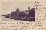 MARCHIENNE AU PONT = Souvenir = La Sambre (écrite) 1899 - België