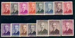 1948 TURKEY LONDON PRINTING INONU POSTAGE STAMPS MNH ** - 1921-... Republic