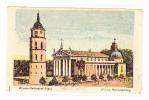 Wilna (Vilnius) Wilno-Kathedral-Platz - Litouwen