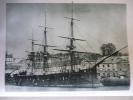 """Marine , """" L'Océan """" Cuirassé A Réduit Central , Lancé En 1868 , Héliogravure Sur Papier Vélin - Documents Historiques"""