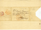 Espana 1845 Frontal Reus A Barna Tipo Baeza - ...-1850 Vorphilatelie