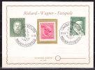 Karte, SoSt Bayreuth Wagner-Festspiele, Werthmann Gauss 1955 (35411) - Covers & Documents