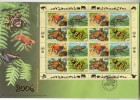 United Nations (AS) 2006 Mi Nr 461 - 464  Fdc 4 Blok Kikker, Frog - Wien - Internationales Zentrum